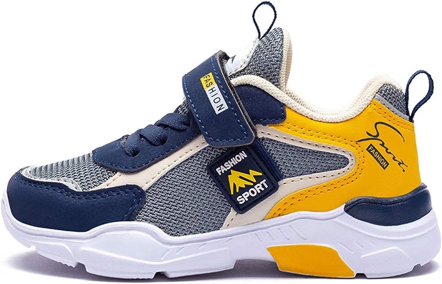 Zapatillas Ni/ños Deporte Transpirables Comodos Zapatos Senderismo Ni/ñas Ligeras Calzado de Running Talla 26-39