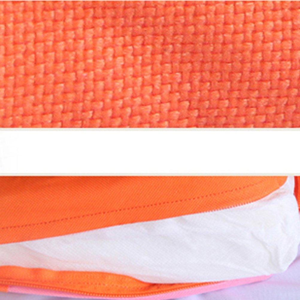 naranja NUOLUX Beb/é Ni/ños Ni/ños Silla de comedor Asientos de amortiguador Desmontable y ajustable Asiento de refuerzo Sill/ón Mat