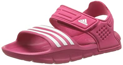 adidas Performance Girls Akwah 8 D65920 Sandals Pink Size: 12.5K