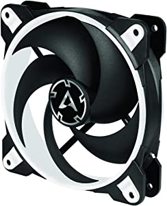 Arctic BioniX P120 (White) - Pressure-optimised 120 mm Gaming Fan with PWM Sharing Technology (PST)