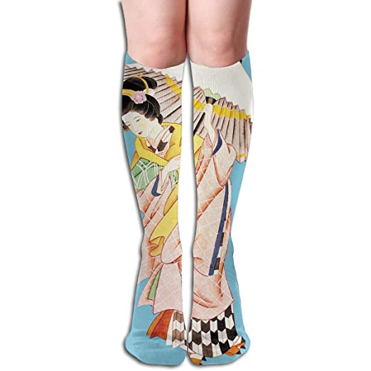 c57368939d Image Unavailable. Image not available for. Color: Liliynice Compression  Socks High Tube Socks Japanese ...