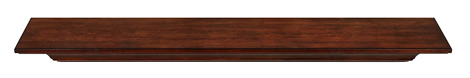 Pearl Mantels 418-72 Homestead Mantel Shelf Unfinished 72-Inch