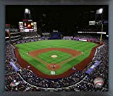"Petco Park San Diego Padres MLB Stadium Photo (Size: 17"" x 21"") Framed"
