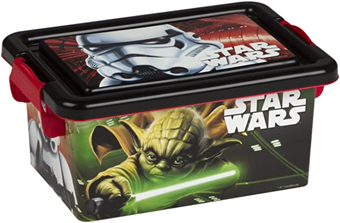 ColorBaby - Caja ordenación 3,7 litros, diseño star wars (76728 ...