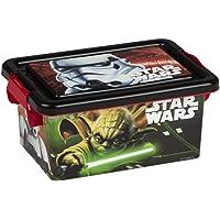 ColorBaby - Caja ordenación 3,7 litros, diseño star