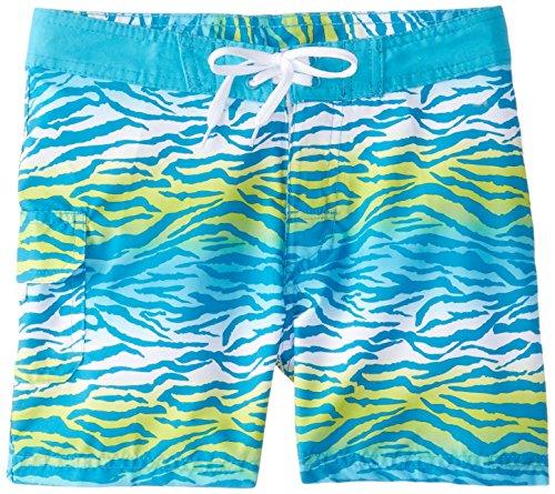 Kanu Surf Big Girls' Malea Boardshorts, Blue, Large (11 Girls Boardshorts)