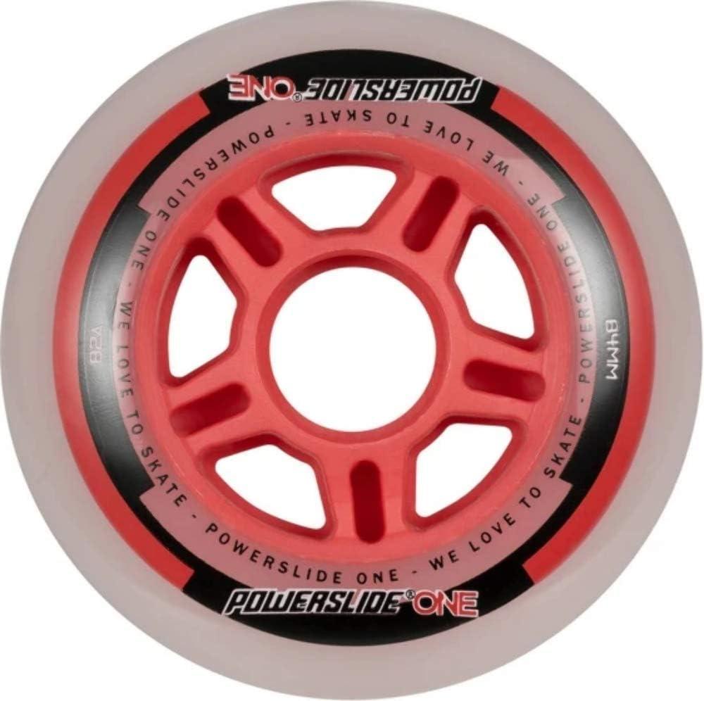 Powerslide One 84mm Wheels 8-Pack