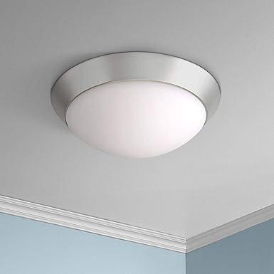 Davis 11 Wide Brushed Nickel Ceiling Light Fixture – 360 Lighting