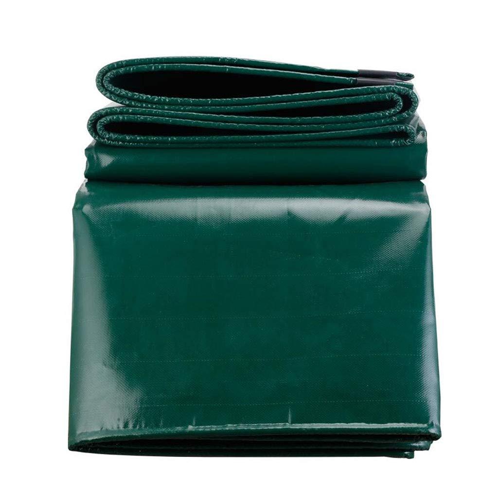 YX-Planen Plane schwere Wasserdichte Folie Premium-Schutzhülle Grün Grün Grün - 100% wasserdicht und UV-geschützt - Dicke 0,5 mm, 650 g m² B07KXLHBN1 Zeltplanen Leitende Mode 63f7ac
