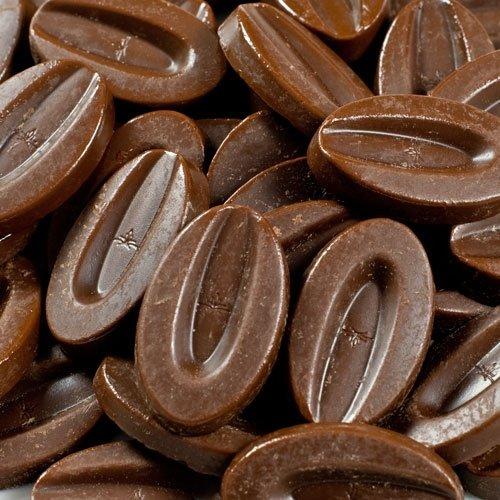 Valrhona Dark Chocolate Pistoles - 61%, Extra Bitter - 1 bag - 6.6 lb by Valrhona