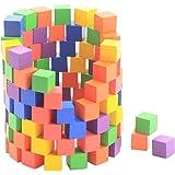 Lewo Jeux de Construction Cube Blocs en Bois Jouets Éducatif pour ...