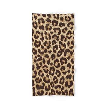Donola Toalla de baño con Estampado de Leopardo 81 x 132 cm: Amazon.es: Hogar