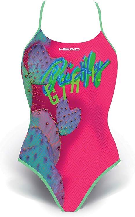 50 Multicolore Costume Olimpionico Donna Head 452488