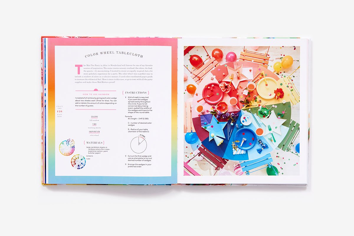 Craft The Rainbow 40 Colorful Paper Projects From The House That