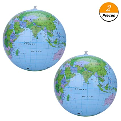 Amazon.com: cianowegy inflable globo playa bolas de billar ...