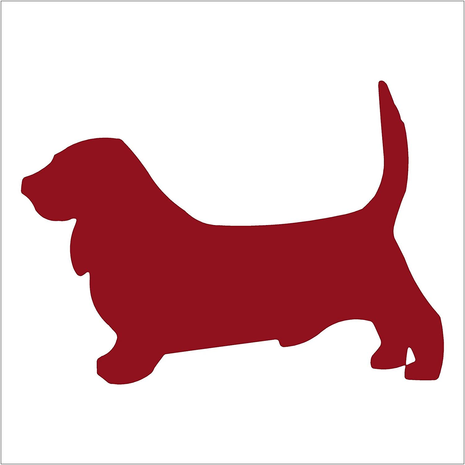 Amazon.com: BASSET HOUND - Dog - Vinyl Car Decal Sticker #1489 ...