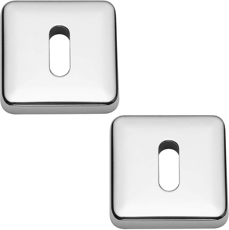 Howdens Polished Chrome Lugano Door Handles Premium Italian Designer Bertelli