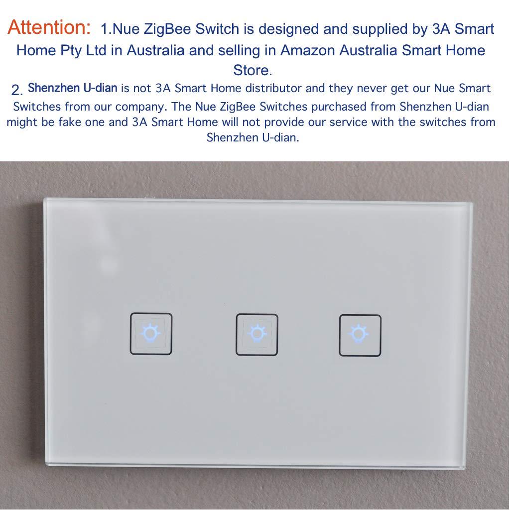 Smart ZigBee 3 Gang AU/NZ Standard Light Switch for Wireless Home ...