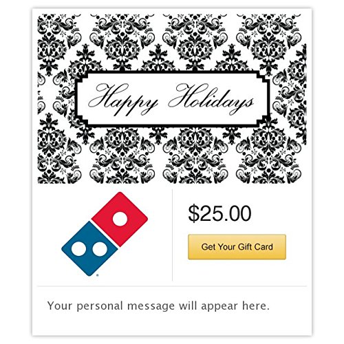 (Dominos  Happy Holidays - Symphony Gift Cards - Email Delivery)
