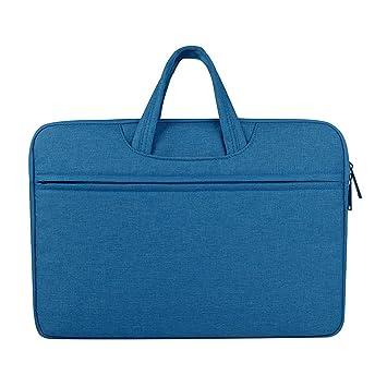 Maletín estilo bandolera Jia Hu para tabletas y portátiles, para mujer, diseño elegante para viajes y escuela, color azul: Amazon.es: Oficina y papelería