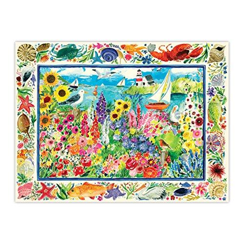 eeBoo Seagull Garden Puzzle, 1000 Pieces