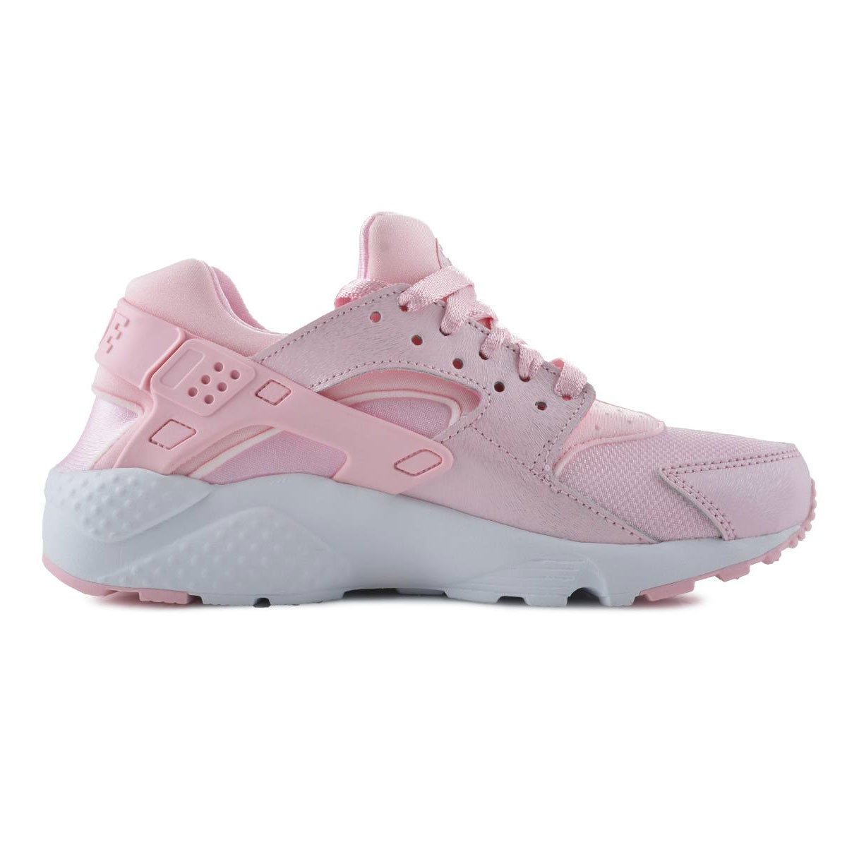 9273935bbeb19 NIKE Big Kids Girls Huarache Run Se Gs Pink Prism Pink-White Size 4. 0 US   Buy Online at Low Prices in India - Amazon.in
