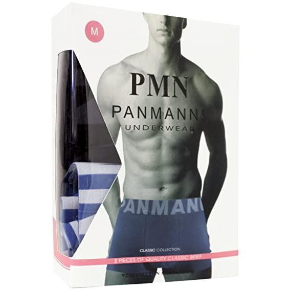 Panmanni Mens 4 Pack of Stretch Cotton Color Boxer Briefs - XL at Amazon Mens Clothing store: