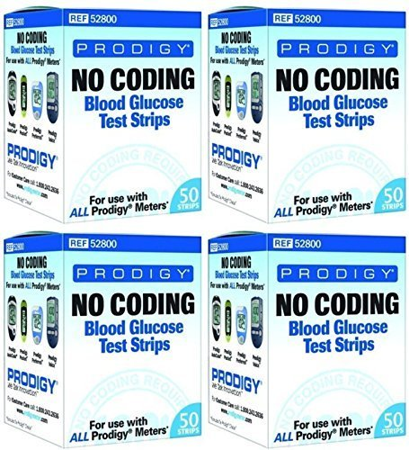 Prodigy Autocode Test Strips, 200 CT by Prodigy