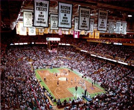 Boston Celtics Photograph Mchale - Option #4: Boston Celtics - Larry Bird & Julius Irving