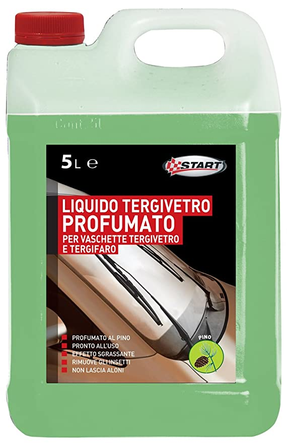 Mantenimiento START líquido limpiaparabrisas perfumado pino Start-5 5El Auto: Amazon.es: Coche y moto