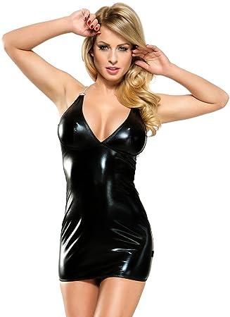 919c116c872636 Wetlook-Kleid Veronique von Demoniq L/XL: Amazon.de: Drogerie ...