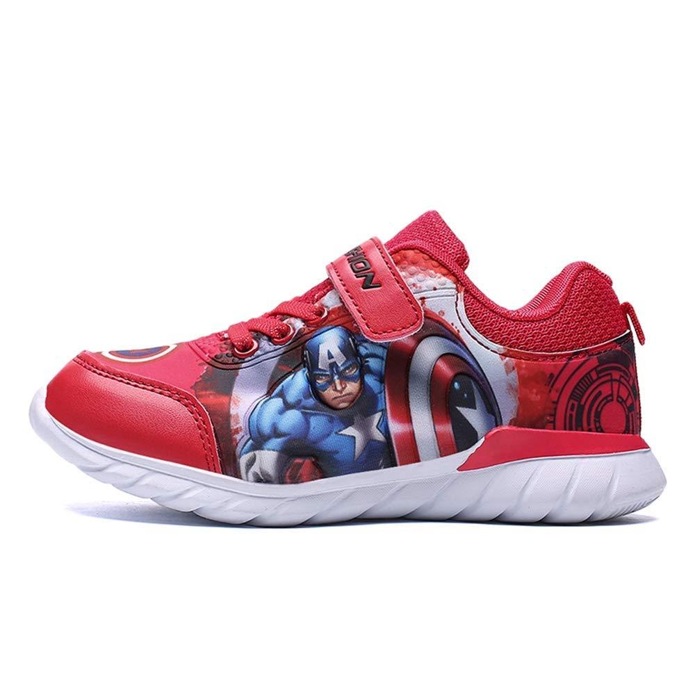 malltea Fashion Kids Marvel Avengers Captain America Lightweight Sneakers Boys