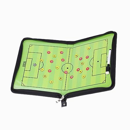 GHB Pizarra Magnetica Futbol Carpeta Tactica Futbol con Accesorios ...