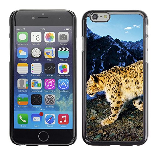 """Premio Sottile Slim Cassa Custodia Case Cover Shell // V00003856 léopard des neiges rôde // Apple iPhone 6 6S 6G PLUS 5.5"""""""
