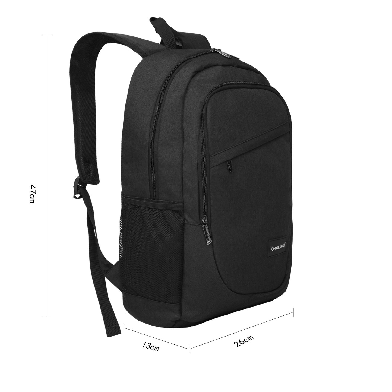 OMOUBOI Business Laptop Water Resistant Anti-Theft College Backpack with USB Charging Port 15.6 Inch Computer Backpacks
