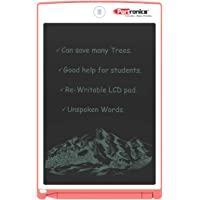 Portronics Portable RuffPad E-Writer 8.5-inch LCD with 4 Magnet, Stylus Drawing Handwriting Board, Pink