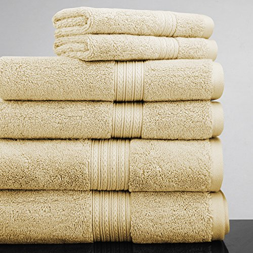 luxor-linens-new-arrival-bliss-collection-egyptian-cotton-classic-6-piece-towel-set-gold