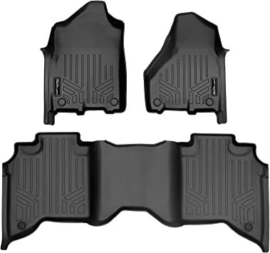 Also Look Great in the Summer./ The Best/ Dodge Ram 2500 Crew Cab Accessory The Ultimate Winter Mats Full Waterproof All Weather TuxMat Custom Car Floor Mats for Dodge Ram 2500 Crew Cab 2019-2020 Models/ - Laser Measured Largest Coverage
