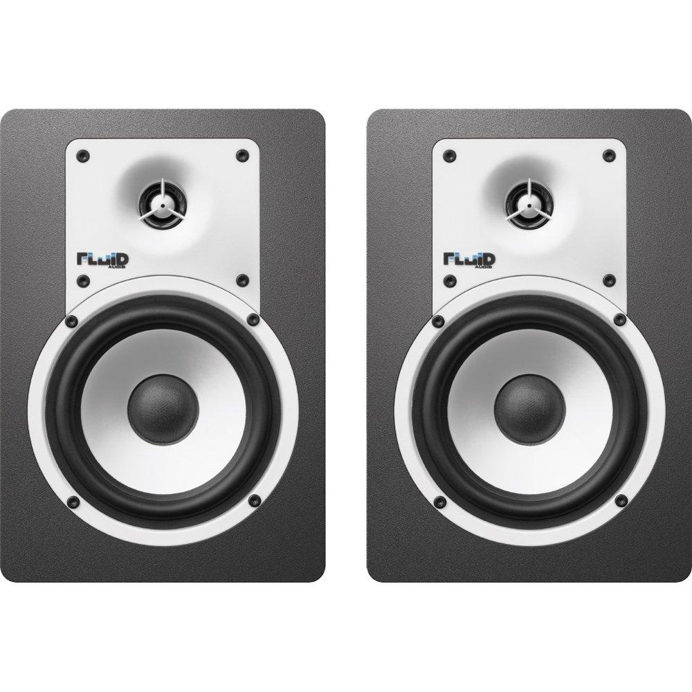 フルイドオーディオ Bluetooth対応ブックシェルフ型モニタースピーカー(ブラック)【ペア】FLUID AUDIO CLASSIC SERIES C5BT B071Z2WS1L