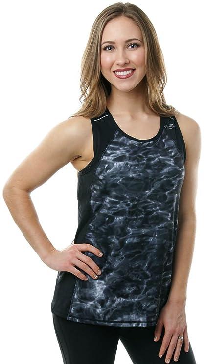 c9358b38befdc Amazon.com  Aqua Design Women s Racerback Workout Tank Top  Sports ...