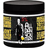 Rich Piana 5% Nutrition ALLDAYYOUMAY Growth and Full Body Recovery / Mango Pineapple 30 Servings, 17.20 oz by Rich Piana