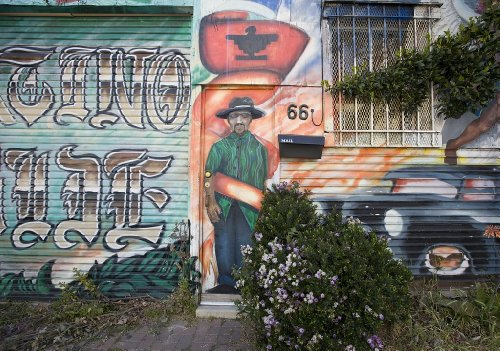 Price comparison product image 24 x 36 Giclee print of Mural Mission District San Francisco California r99 2009 April 29 by Highsmith