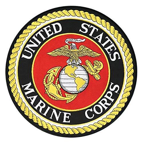 United States Marine Corps with EGA Emblem 10.5