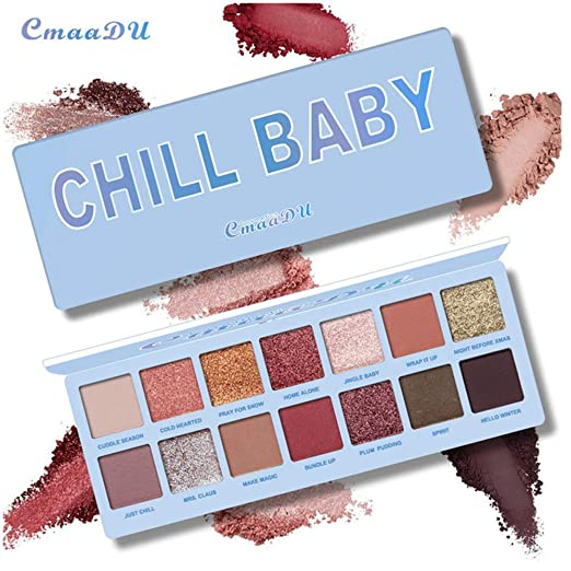 Beauty & Health Cmaadu Matte And Shimmer Eyeshadow Palette Professional Party Makeup 9 Colors Fashion High Pigment Eye Shadow Cosmetics Women
