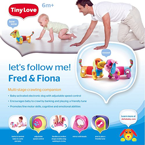 61aLX3X8KsL - Tiny Love Baby Toy, Follow Me Fiona
