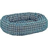 Atlantis Donut Diamond-Microfiber Dog Bed