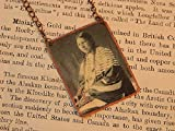 Native American necklace Lakota Woman mixed media jewelry Native American jewelry