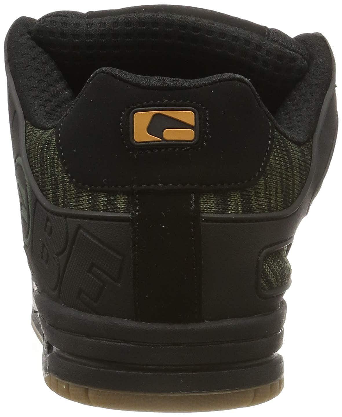 Noir 6.5 US Globe Tilt Chaussures de Skateboard Homme - 38.5 EU Black//Olive Knit 20421