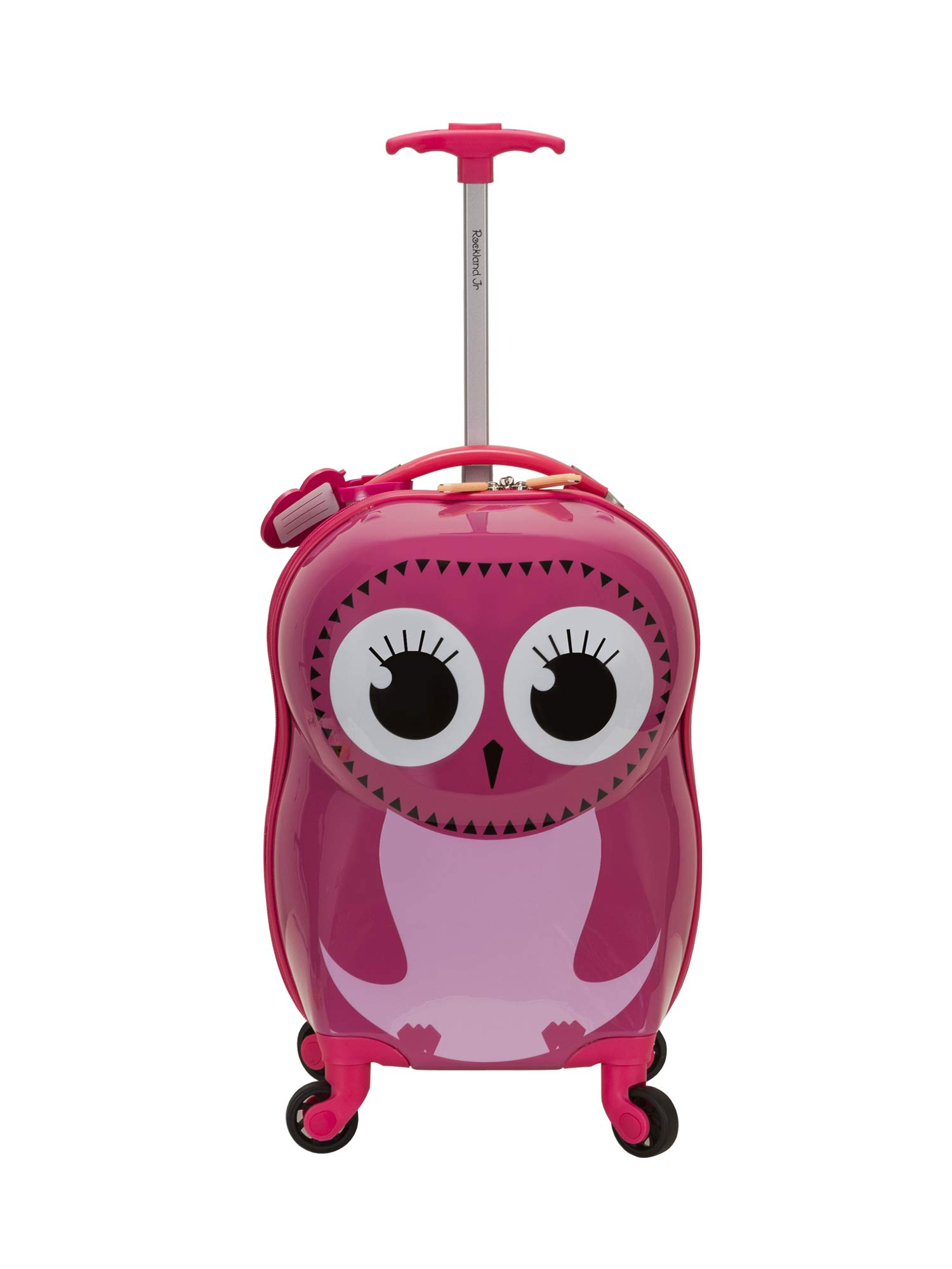 Rockland Jr. Kids' My First Luggage-Polycarbonate Hard Side Spinner, OWL by Rockland