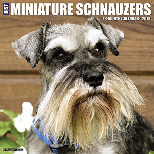 Schnauzer Puppies (Just Miniature Schnauzers 2018 Wall Calendar)